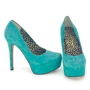 Jessica Simpson Waleo Platform Heels Size 6